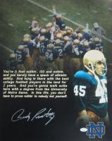 Rudy Ruettiger Signed Notre Dame Fighting Irish 16x20 Photo (JSA COA) at PristineAuction.com