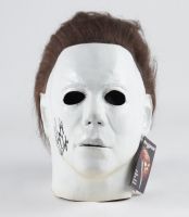 """Nick Castle Signed """"Halloween"""" Michael Myers Mask Inscribed """"The Shape"""" (Beckett Hologram) at PristineAuction.com"""