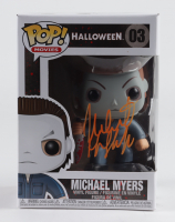 """Nick Castle Signed """"Halloween"""" #3 Michael Myers Funko Pop! Vinyl Figure Inscribed """"The Shape"""" (Beckett Hologram) at PristineAuction.com"""