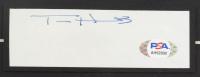 """Tom Hanks Signed """"Forrest Gump"""" 15.5x19.5 Custom Framed Cut Display (JSA COA & PSA Hologram) (See Description) at PristineAuction.com"""