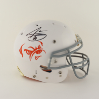 Jarvis Landry Signed Full-Size Authentic On-Field Matte White Helmet (Beckett COA) (See Description) at PristineAuction.com