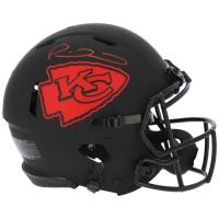 Patrick Mahomes Signed Chiefs Full-Size Eclipse Alternate Speed Helmet (Fanatics Hologram) at PristineAuction.com