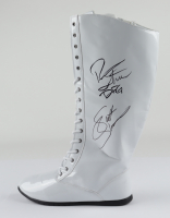 Rick & Scott Steiner Signed Wrestling Boot (JSA COA) (See Description) at PristineAuction.com