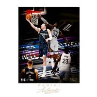 Luka Doncic Signed LE Mavericks 16x20 Photo (Panini COA) at PristineAuction.com