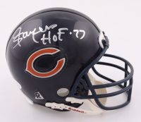 """Gale Sayers Signed Bears Micro Helmet Inscribed """"HOF-77"""" (JSA COA) at PristineAuction.com"""