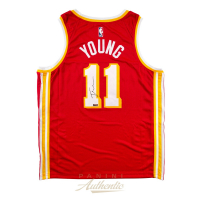Trae Young Signed Hawks Jersey (Panini COA) at PristineAuction.com