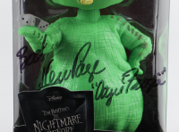 """KenPage Signed """"The Nightmare Before Christmas"""" Oogie Boogie Funko Wacky Wobbler Bobblehead inscribed """"Boo!"""" & """"Oogie Boogie"""" (PSA COA) at PristineAuction.com"""