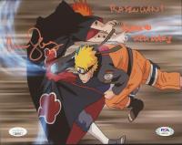 "Maile Flanagan Signed ""Naruto"" 8x10 Photo Inscribed ""Rasengan!"" & ""Naruto Uzumaki"" (PSA COA & JSA COA) at PristineAuction.com"