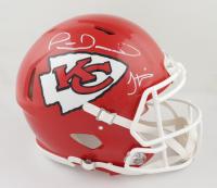 Patrick Mahomes & Tyreek Hill Signed Kansas City Chiefs Full-Size Authentic On-Field Speed Helmet (JSA COA & Radtke COA) (See Description) at PristineAuction.com