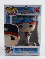"Charlie Sheen Signed ""Major League"" #886 Ricky ""Wild Thing"" Vaughn Funko Pop! Vinyl Figure (Beckett COA & PSA COA) at PristineAuction.com"