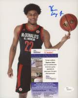 Vernon Carey Jr. Signed Duke Blue Devils 8x10 Photo (JSA COA) at PristineAuction.com