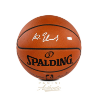 Anthony Edwards Signed NBA Game Ball Series Basketball (Panini COA) at PristineAuction.com