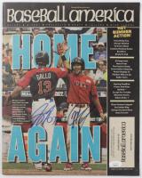 "J. P. Crawford & Joey Gallo Signed 2014 Baseball America Magazine Inscribed ""MVP"" (JSA COA) at PristineAuction.com"