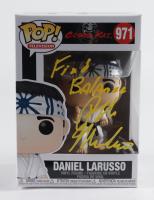 "Ralph Macchio Signed ""Cobra Kai"" #971 Daniel LaRusso Funko Pop! Vinyl Figure Inscribed ""Find Balance"" (ACOA COA) at PristineAuction.com"