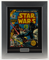 """1977 Original Second Issue """"Star Wars"""" 16.5x20.5 Custom Framed Comic Book at PristineAuction.com"""