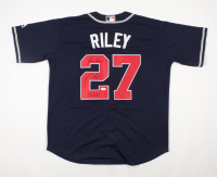 """Austin Riley Signed Braves Jersey Inscribed """"Braves Country"""" & """"Chop On"""" (JSA COA) at PristineAuction.com"""