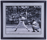 Stan Musial Signed Cardinals 22x26 Custom Framed Photo Display (PSA COA) (See Description) at PristineAuction.com