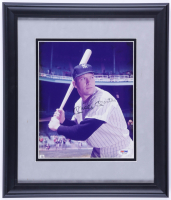 Mickey Mantle Signed Yankees 13.5x15.5 Custom Framed Photo (PSA LOA) (See Description) at PristineAuction.com