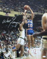 Walt Frazier Signed Knicks 16x20 Photo (JSA COA) at PristineAuction.com