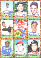 Duke Snider Signed 8x10 1982 Cracker Jack Topps All Time Baseball Greats Uncut Card Sheet (JSA COA) at PristineAuction.com