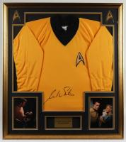 William Shatner Signed 32x36 Custom Framed Shirt Display (JSA Hologram) at PristineAuction.com