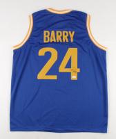 Rick Barry Signed Jersey (JSA COA) at PristineAuction.com