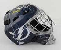Yanni Gourde Signed Lightning Full-Size Goalie Mask (PSA COA) at PristineAuction.com