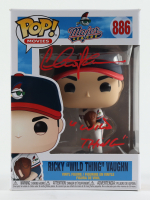 """Charlie Sheen Signed """"Major League"""" #886 Ricky """"Wild Thing"""" Vaughn Funko Pop! Vinyl Figure Inscribed """"A Wild Thing"""" (Beckett Hologram) at PristineAuction.com"""