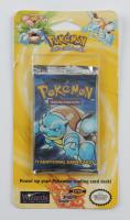 Original 1999 Factory Sealed Pokemon TCG Bonus Blister Pack including Blastoise Artwork with (11) Additional Cards (See Description) at PristineAuction.com