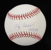 "Yogi Berra Signed OML Baseball Inscribed ""HOF 72"" (Schulte Sports Hologram & MLB Hologram) at PristineAuction.com"
