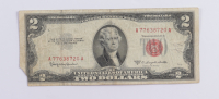 1953C $2 Two Dollar U.S. National Currency Red Seal Bank Note at PristineAuction.com