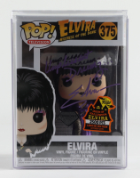 "Cassandra Peterson Signed LE ""Elvira: Mistress of the Dark"" #375 Funko Pop! Vinyl Figure Inscribed ""Unpleasant Dreamz..."" with Display Case (Beckett COA) at PristineAuction.com"