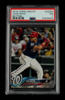Juan Soto 2018 Topps Update #US300 RC (PSA 7) at PristineAuction.com