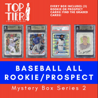TTC Baseball All Rookie / Prospect (3) Card Mystery Box Series 2 (Limited to 25) at PristineAuction.com