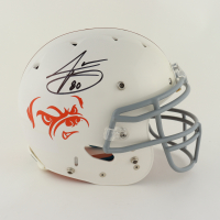 Jarvis Landry Signed Full-Size Authentic On-Field Helmet (Beckett COA) (See Description) at PristineAuction.com