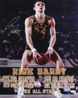 Rick Barry Signed Warriors 16x20 Photo (JSA COA) (See Description) at PristineAuction.com