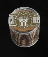 Ballistic Roll of (12) Uncirculated 2011-P James Garfield Presidential Dollars at PristineAuction.com