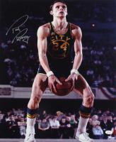 Rick Barry Signed Warriors 16x20 Photo (JSA Hologram) (See Description) at PristineAuction.com
