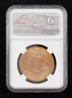 1908 $20 Twenty-Dollar Saint-Gaudens Double Eagle Gold Coin (NGC MS66) (No Motto) at PristineAuction.com