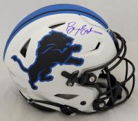 Barry Sanders Signed Lions Full-Size Authentic On-Field Lunar Eclipse Alternate SpeedFlex Helmet (Schwartz Sports COA) at PristineAuction.com