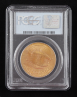 1908 $20 Twenty-Dollar Saint-Gaudens Double Eagle Gold Coin (PCGS MS66) (Wells Fargo Nev Gold) at PristineAuction.com