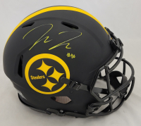 Pat Freiermuth Signed Steelers Full-Size Authentic On-Field Eclipse Alternate Speed Helmet (Beckett Hologram) at PristineAuction.com