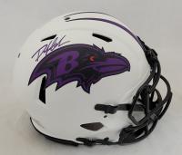 Odafe Jayson Oweh Signed Ravens Full-Size Authentic On-Field Lunar Eclipse Alternate Speed Helmet (JSA COA) at PristineAuction.com