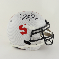 Jeff Garcia Signed Full-Size Authentic On-Field Hydro-Dipped Helmet (Beckett COA) at PristineAuction.com