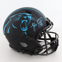 Luke Kuechly Signed Panthers Full-Size Authentic On-Field Eclipse Alternate Speed Helmet (Beckett COA) at PristineAuction.com