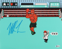 """Mike Tyson Signed """"Punch-Out!!"""" 11x14 Photo (Beckett COA) (See Description) at PristineAuction.com"""