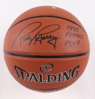 "Rick Barry Signed NBA Basketball Inscribed ""1975 Finals MVP"" (JSA COA) at PristineAuction.com"