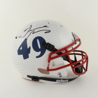 Tremaine Edmunds Signed Full-Size Authentic On-Field Hydro-Dipped Helmet (Beckett Hologram) (See Description) at PristineAuction.com
