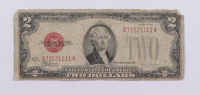 1928F $2 Two Dollar U.S. National Currency Red Seal Bank Note at PristineAuction.com
