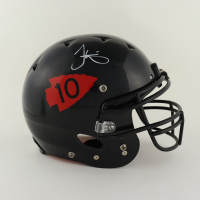 Tyreek Hill Signed Full-Size Authentic On-Field Helmet (Beckett Hologram) (See Description) at PristineAuction.com